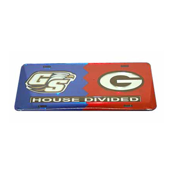 Image For License Plate - GSU vs UGA