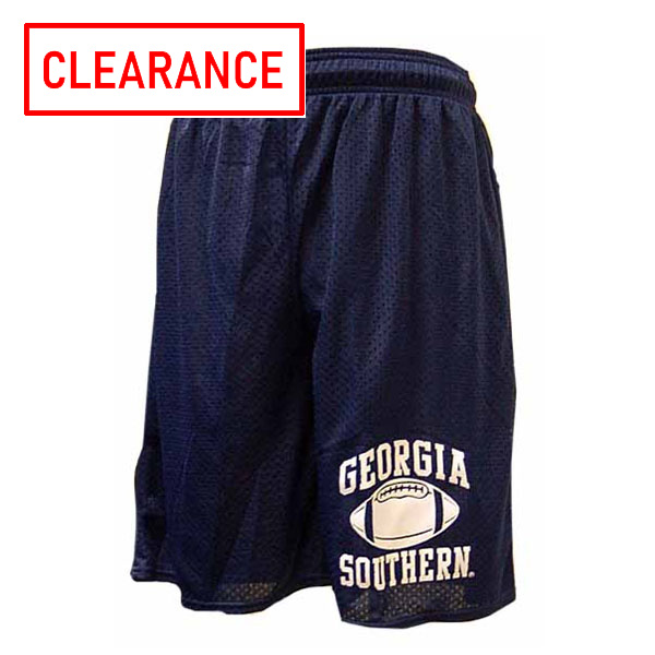 Image For Navy GASO Jersey Football Shorts