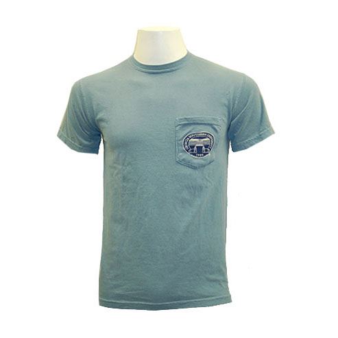 Image For Comfort Colors Blue Alumni T-Shirt w/GSU Seal on Pocket