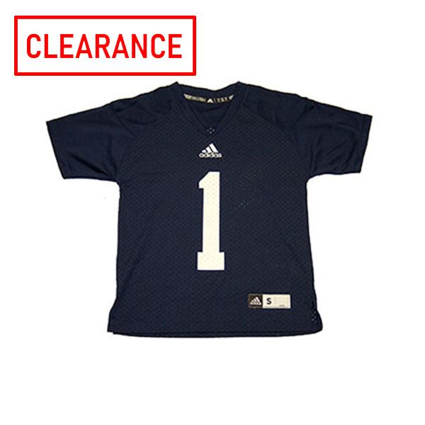 Image For Adidas Navy Youth Jersey #1