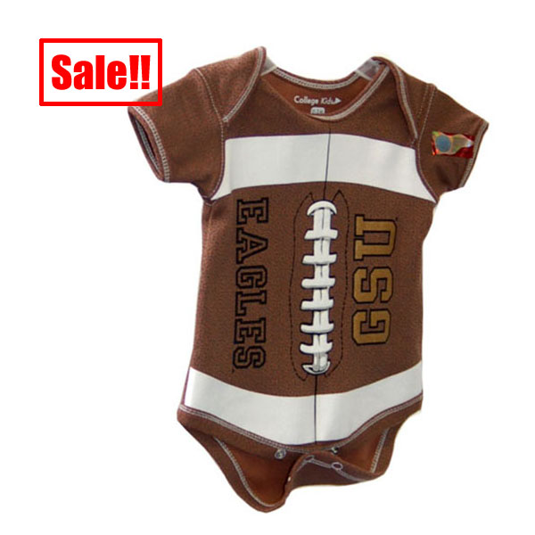 Image For College Kids Football Onesie