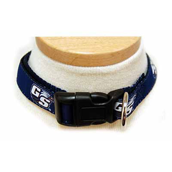 Image For Navy Adjustable Dog Collar w/Secondary Logo