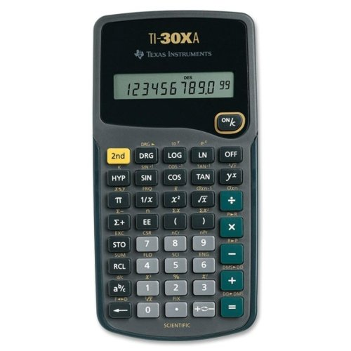 Image For Texas Instruments TI30XA Scientific Calculator