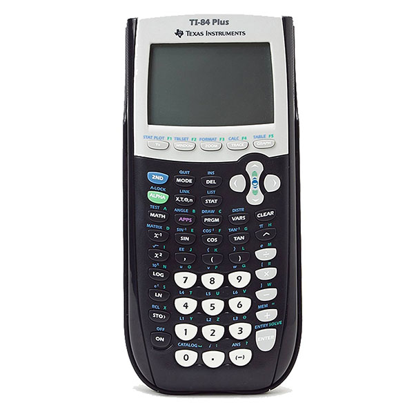 Image For Texas Instruments TI-84 Plus Graphing Calculator, Black
