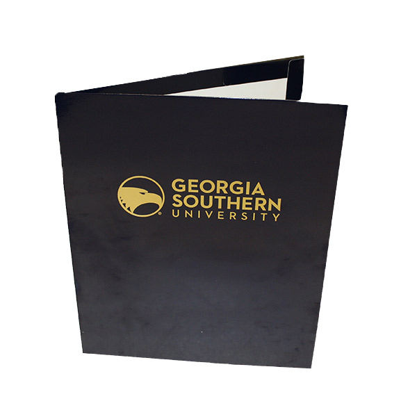Image For Blue Glossy GSU Folder W/ Academic Logo