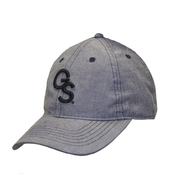 Image For Legacy Navy Oxford Cloth Cap w/Embroidered GS