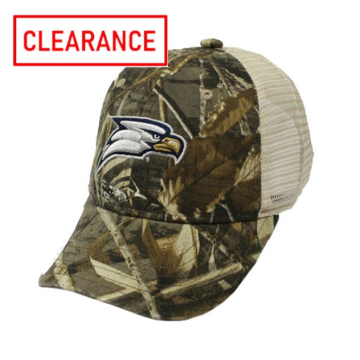 Image For The Game Youth Camo Trucker w/Eagle Head