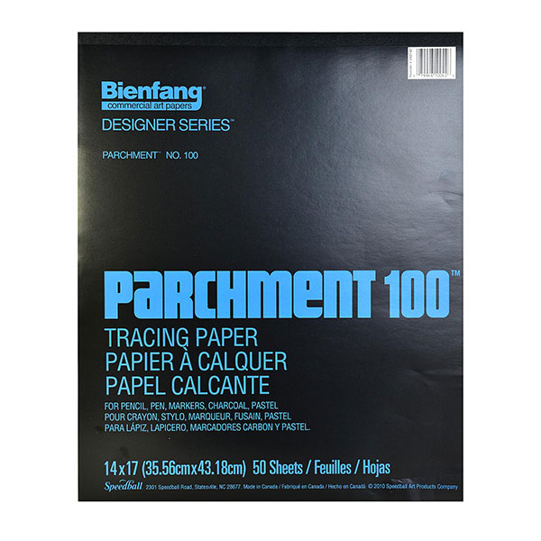 Image For Bienfang Parchment 100, 50 Sheet Tracing Paper