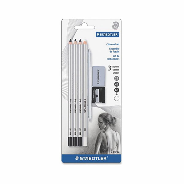 Image For Staedtler Charcoal Set