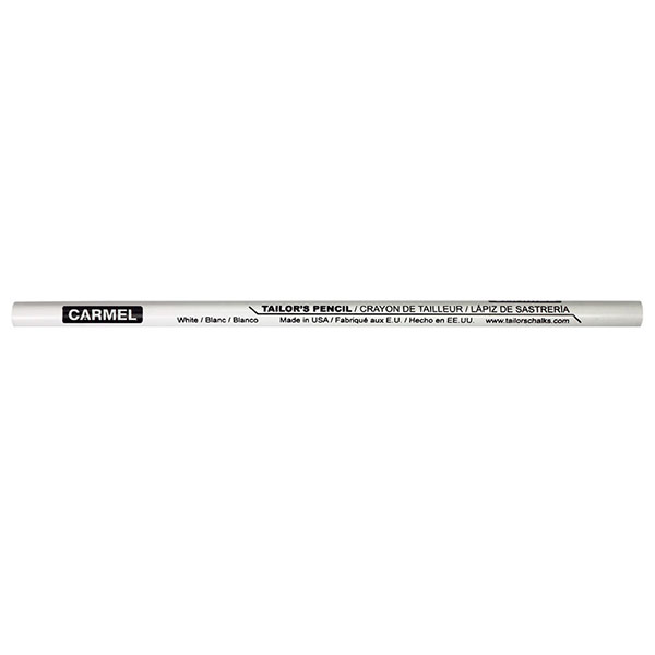 Image For Carmel Tailors Pencil-White