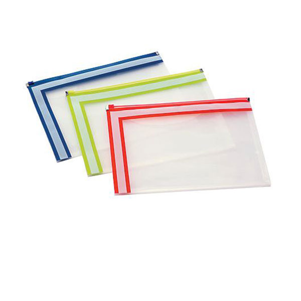 Image For Pendaflex Easy Label Zip Envelope,Letter Size, Assorted