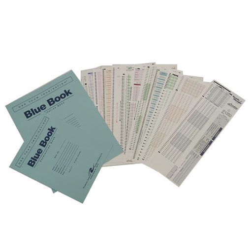 Image For Scantrons and Blue Books