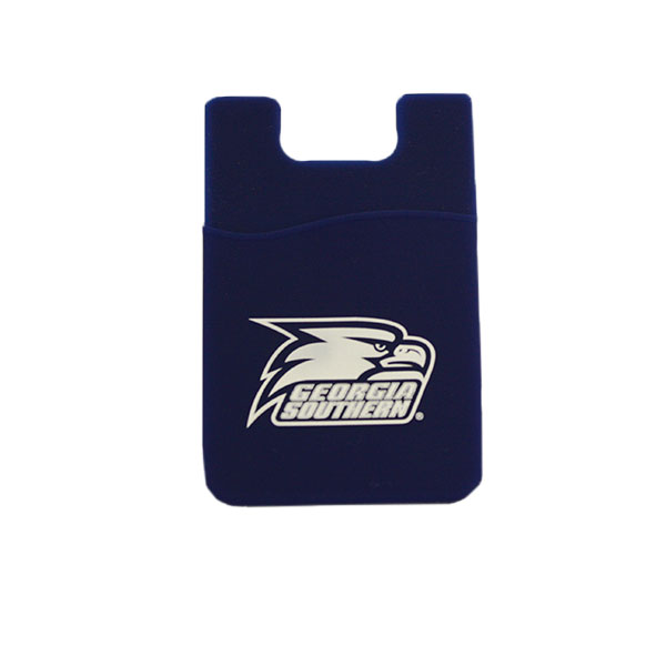 Image For Navy Cellphone ID Case w/Athletic Logo
