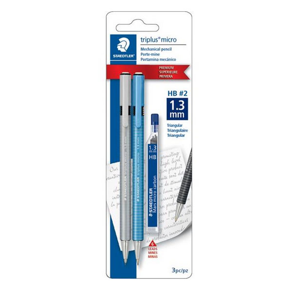 Image For Staedtler-Mars 77413SBKA6 Triplus Mechanical Pencil