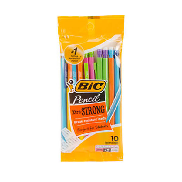 Image For BIC Xtra-Strong Mechanical Pencil, Thick Point, 0.9mm