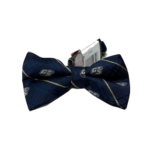 Image For Navy Bow Tie w/Secondary Logo