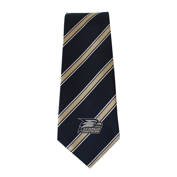 Image For Georgia Southern Tie Woven Poly 1 w/Athletic Logo