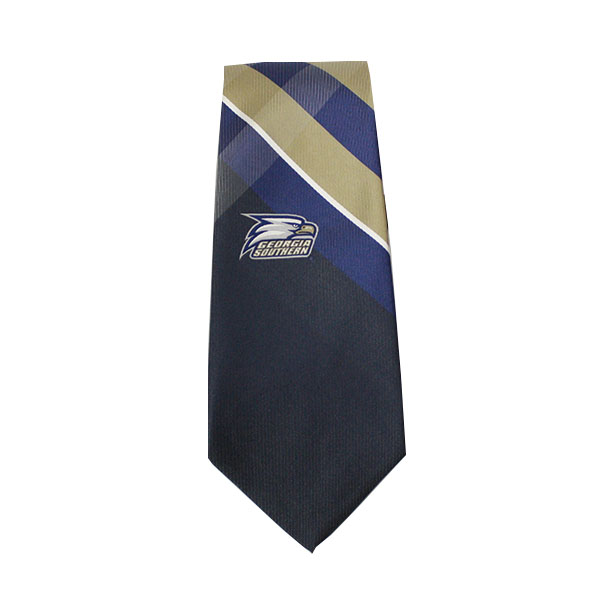 Image For Georgia Southern Tie Grid w/Athletic Logo