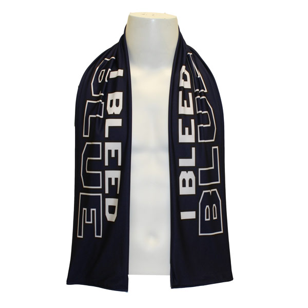 Image For American Made I Bleed Blue Scarf