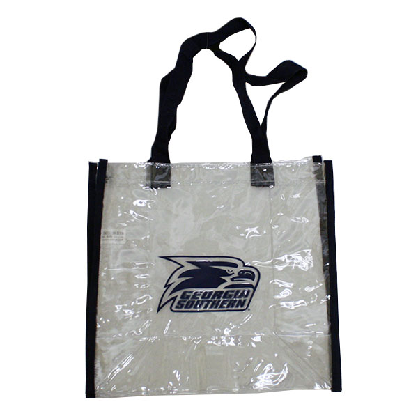 Image For Clear Stadium Tote w/Athletic Logo