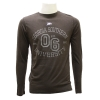 Cover Image for Brown GASO Long Sleeve T-Shirt w/Est. 06