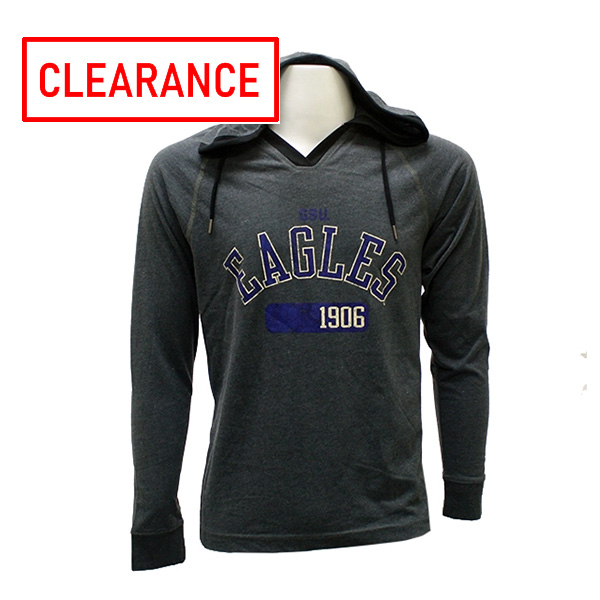 Image For Charcoal Hoodie w/GSU Eagles 1906