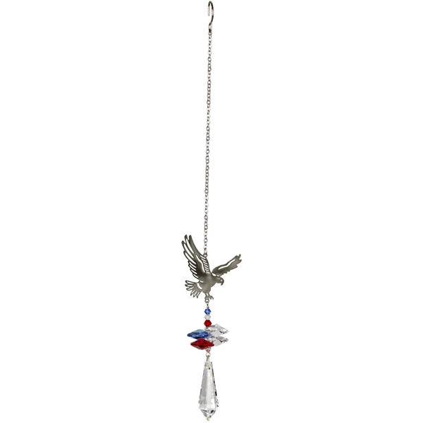 Image For Fantasy Glass Suncatcher Eagle
