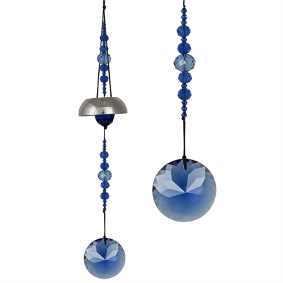 Image For Woodstock Chimes Sparkle Bell Blue