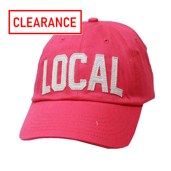 Image For Alma-Mater Collection Pink Cap w/Local & Georgia on Back