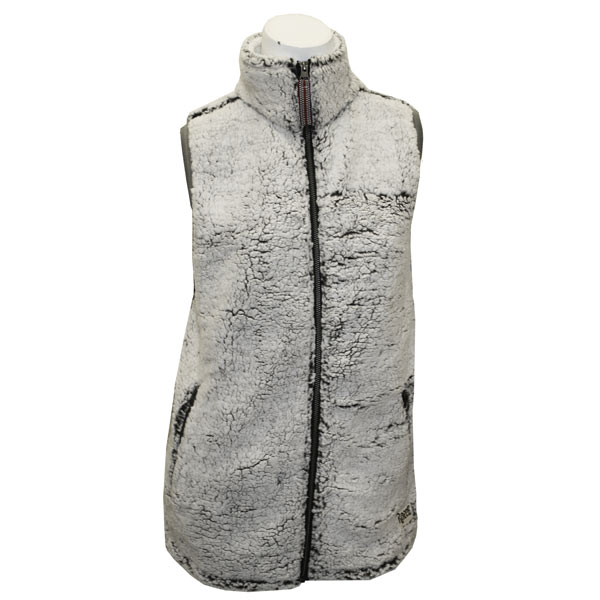 Image For Oatmeal Fleece Ladies Vest