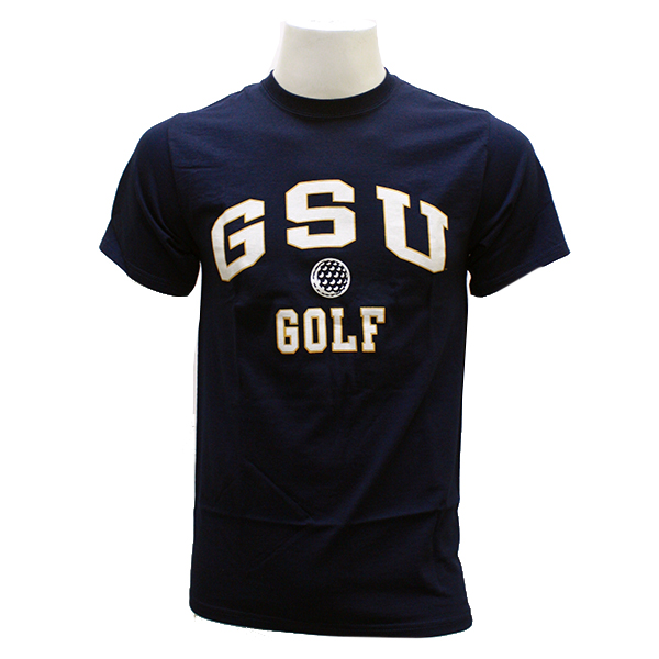 Cover Image For Navy GSU Golf T-shirt