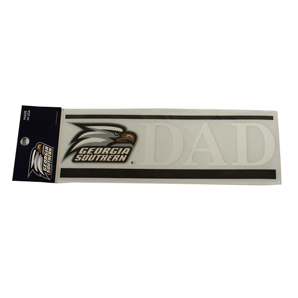 "Image For Dad  Decal 7"" x 2"" w/Athletic Logo"