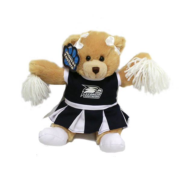 "Image For 9"" Cheerleader Bear w/Athletic Logo"