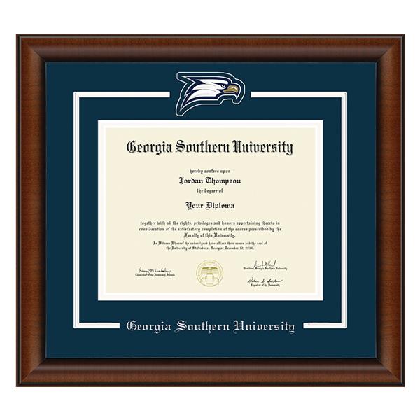 99b5867818c Spirit Medallion Diploma Frame w Eagle