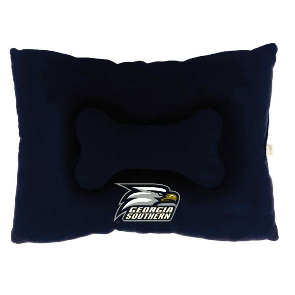 Cover Image For All Star Navy Medium Pet Bed W/ Athletic Logo