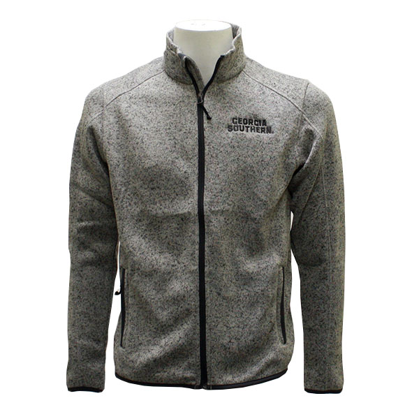 Image For CI Sport Ladies Heather Gray Fleece Jacket w/GS