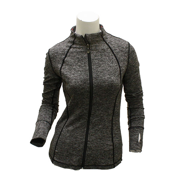 Image For KadyLuxe Ladies Heather Gray Jacket