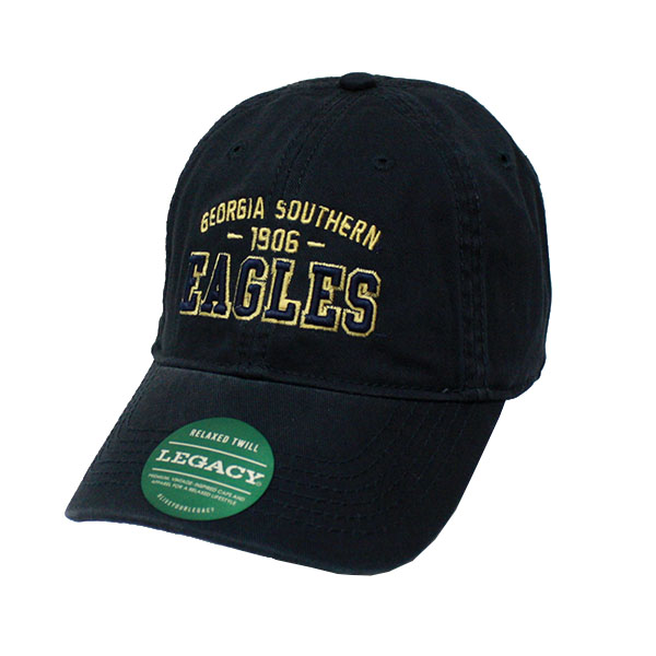 Image For Legacy Navy Relaxed Twill Trucker Cap w/GASO/1906/Eagles