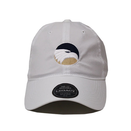Image For Legacy White Cool-Fit Adjustable Cap w/GASO/GS