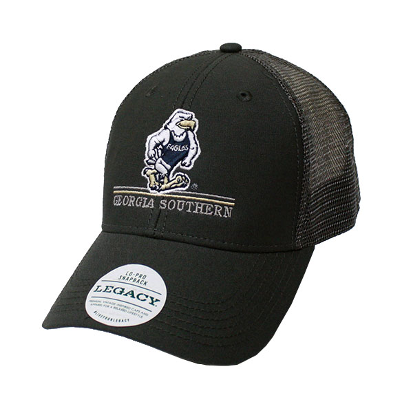 Image For Legacy Dark Gray Trucker Cap w/Gus/GS