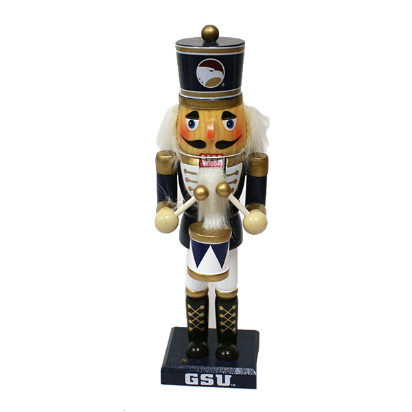 "Image For 10"" Nutcracker Drummer w/GSU & Academic Logo"