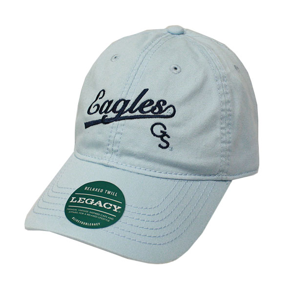 Image For Legacy Powder Blue Ladies Cap w/Eagles/GS