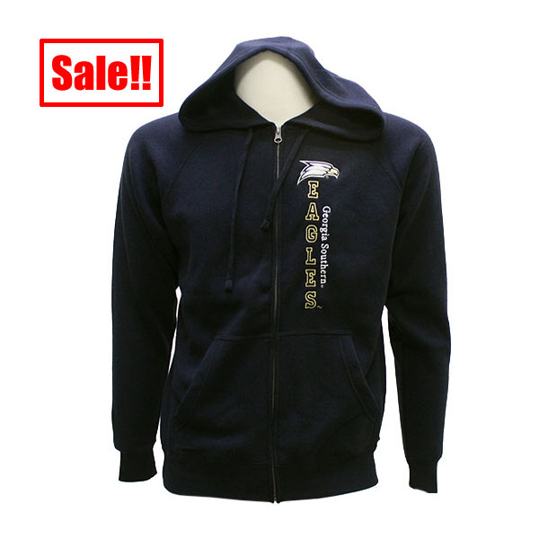 Image For CI Sport Navy zipped Hoodie w/GASO Eagles