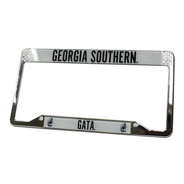 Image For Colorshock License Plate Frame w/GASO/GATA