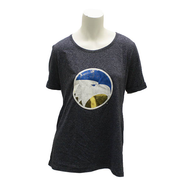 Image For Camp David Navy Ladies T-shirt w/Eagle Logo
