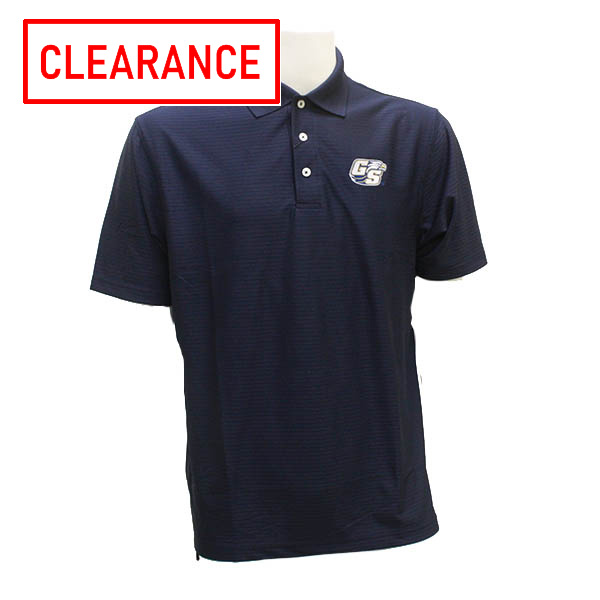 Image For Divots Navy Men's Polo w/Secondary Logo