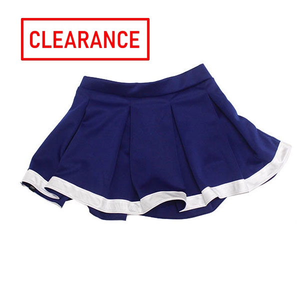 Cover Image For Navy/White Cheer Skirt