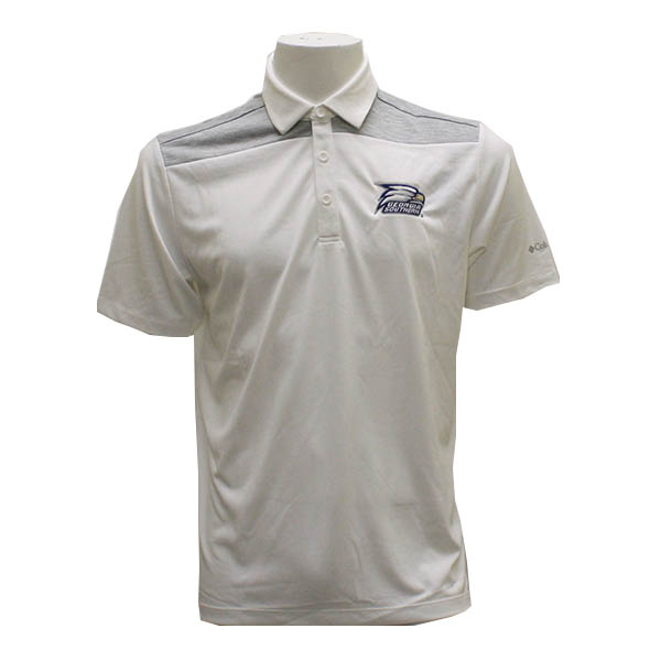 Image For Columbia Navy & White  Golf Polo w/Athletic Logo