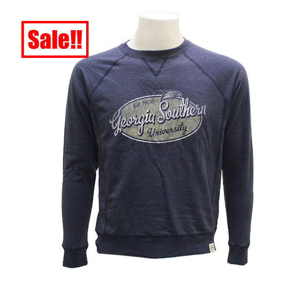 Image For Legacy Navy French Terry Fleece Ladies Crew w/GASO