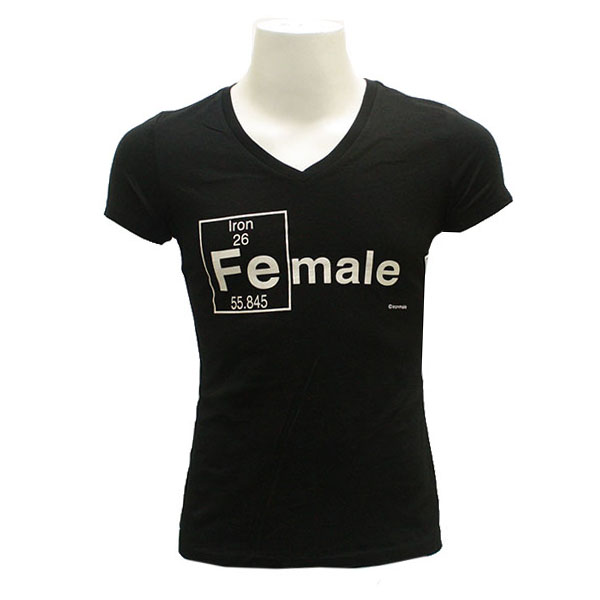 Image For Iron-Male Black T-Shirt